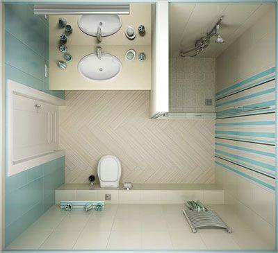 11 идей дизайна маленькой ванной комнаты
