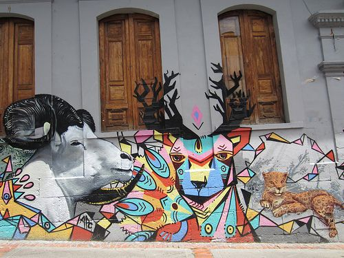 Bogota Street Art - Graffiti
