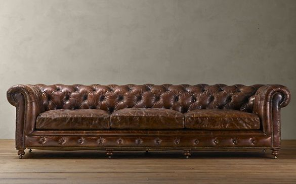 this chesterfield sofa is so beautiful, i'd be scared to sit on it