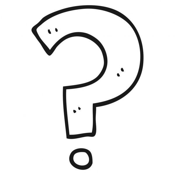 Black And White Cartoon Question Mark Stock Vector Ad Cartoon White Black Questio Black And White Cartoon Cartoon Question Mark Cartoons Questions