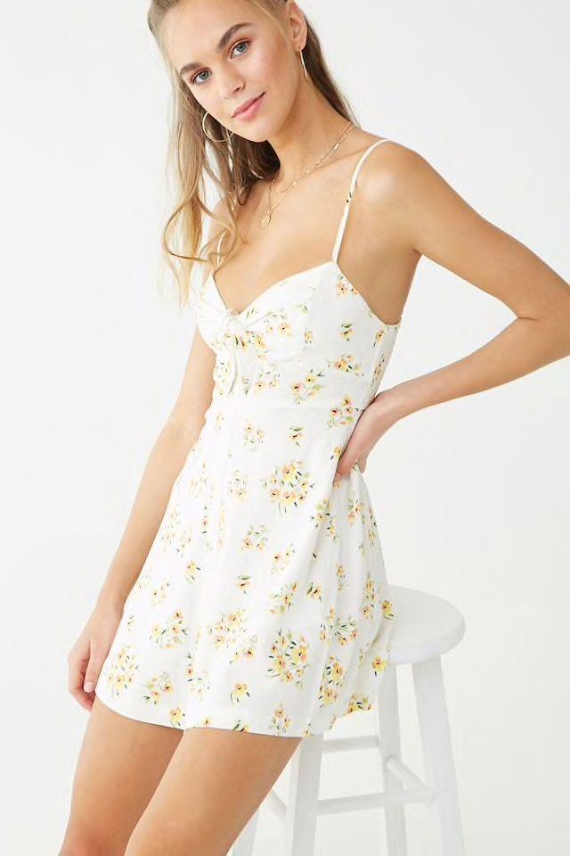 b6ad3a5780 Floral Print Cami Dress