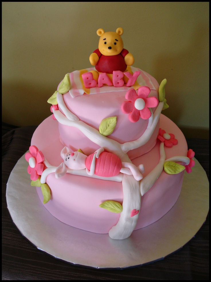 Find This Pin And More On Winnie The Pooh Birthday/Baby Shower Cakes By  Mandie34.