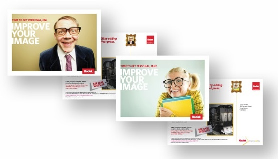 Agency: Wellmark | Category: B2B/print industry | Work: Kodak direct mail series 2012 | Target audience: printers