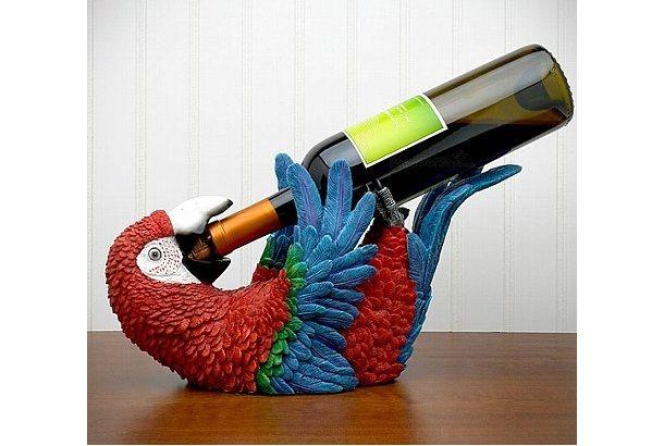 Caribbean Parrot Bottle Holder