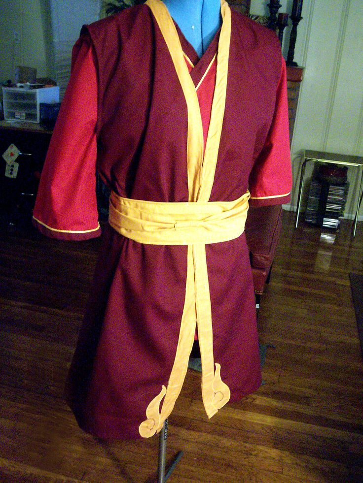 Prince Zuko Cosplay Costume (Avatar The Last Airbender). My son wants to be Zuko for Halloween..Holy Moly..How to make this in an easier way..aye aye aye