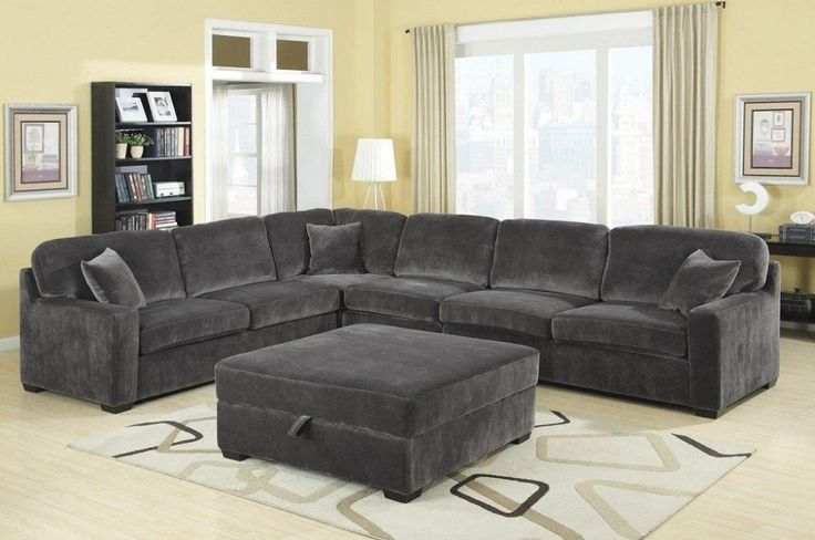 Overstuffed Sectional Sofa With Chaise Home Furnishings Home