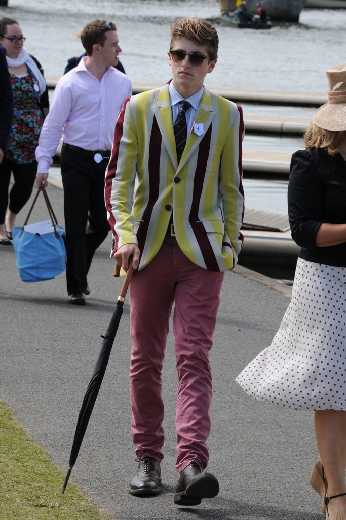 A look from the Henley Royal Regatta.