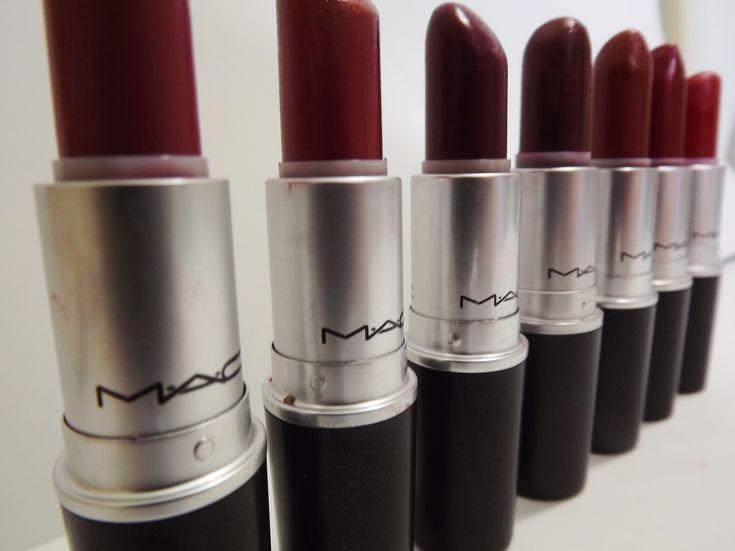 7 Great MAC Lipsticks For Fall ~ A Brilliant Brunette