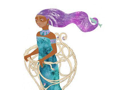 "Check out new work on my @Behance portfolio: ""Goddess Luna"" http://be.net/gallery/49570613/Goddess-Luna"