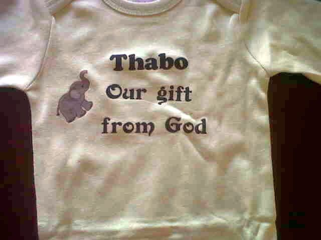 Thabo is a gift from God