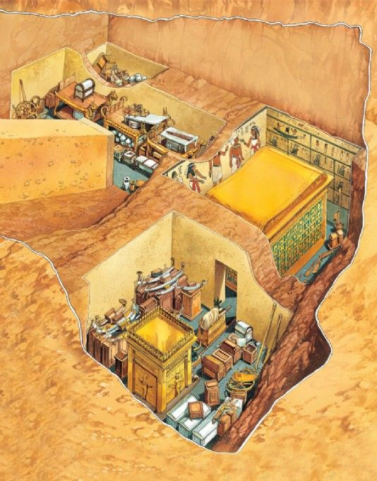 Tutankhamun's tomb - Q-files Encyclopedia                                                                                                                                                                                 More
