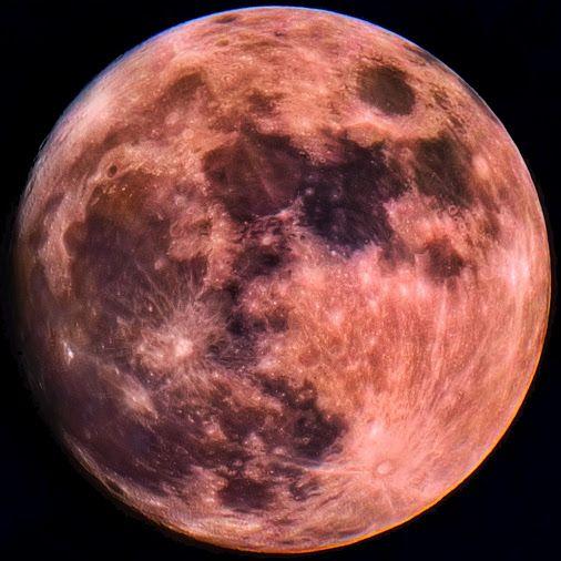 """Luna 2015-12-24 17:37z  Observatory: +50°30' +03°36' Tz: 0h00m (J2000) Right Ascension: 05h32m45.89s (J2000) Declination: +17°32'14.4"""" Distance: 372148Km…  -  Paul Hutchinson - Google+"""