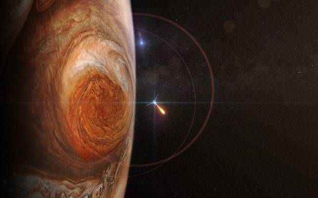 Knock, knock, knockin' on Jupiter's door: Historic NASA mission a weekend away from planet's orbit : Who is What is, News - India Today