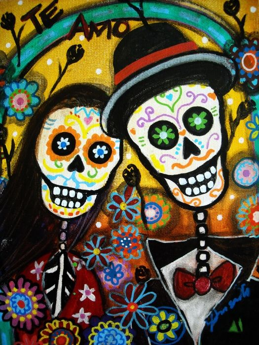 Day of the Dead Wedding.