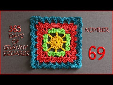 365 Days of Granny Squares Number 69 - YouTube