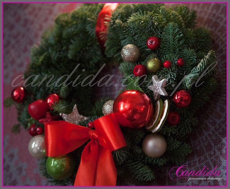 Christmas decorations - Warsaw -by Candida pracownia dekoracji #christmasdecorations