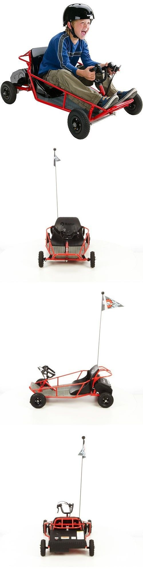 Complete Go-Karts and Frames 64656: Kids Go Kart Children Electric Car Running Vehicle Runner Racing Drive Games Fun -> BUY IT NOW ONLY: $387.99 on eBay!