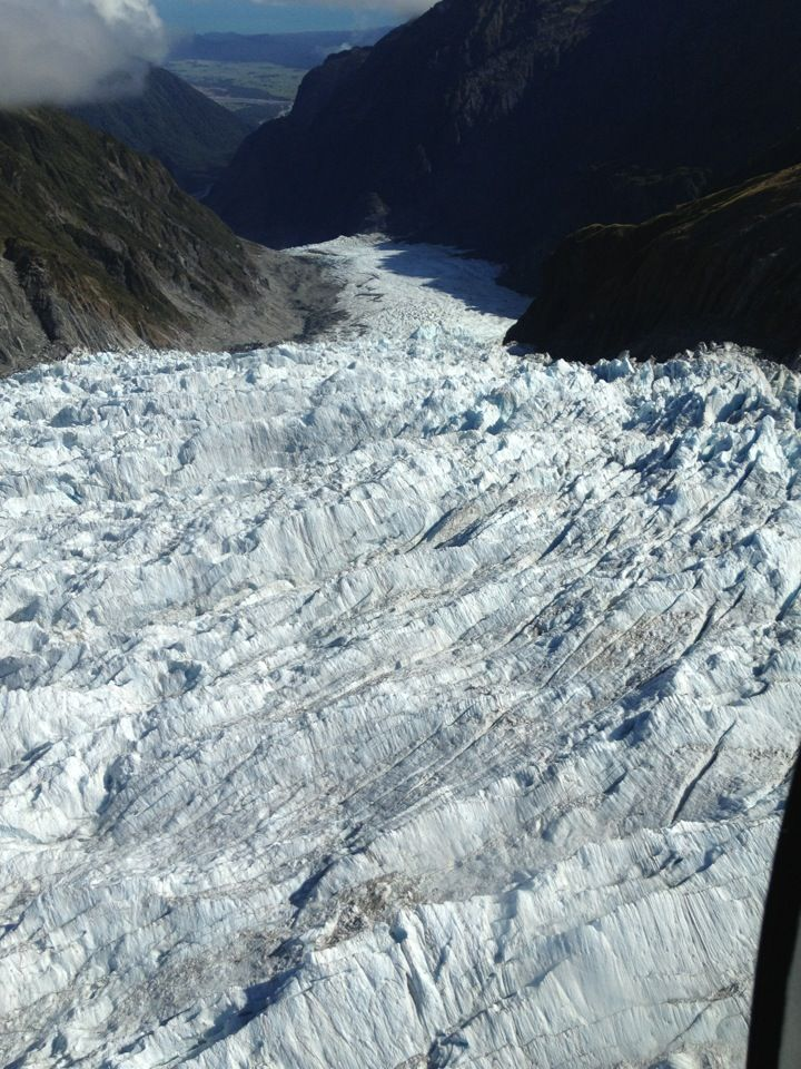 Fox Glacier in Fox Glacier, West Coast