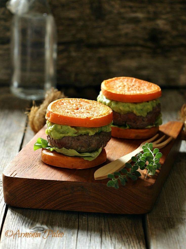 Mini Hamburger di Manzo con Patate Dolci