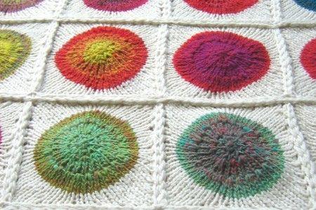 Knitting  -  sticka inspiration handarbete stickning diy filt pläd