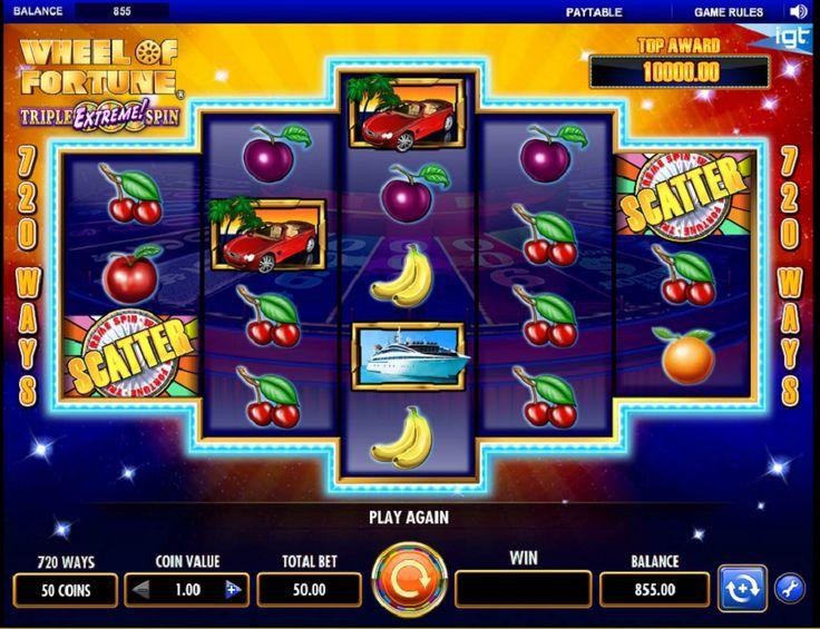 Automat Kolo štěstí - Kolo štěstí je zábavná hra, kterou si nyní můžete vyzkoušet díky společnosti IGT, která se rozhodla v tomto tématu představit hrací automat se stejným názvem. Roztočte své kolo a počkejte jakou výhru si vytočíte. Nejvyšší výhru, kterou můžete vyhrát je 25 000 mincí.