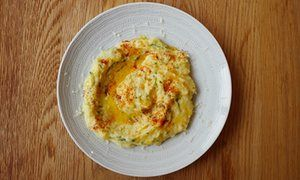 Nuno Mendes's quick salted cod with potatoes, garlic and comté cheese | Life and style | The Guardian