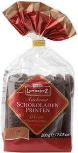 "Lambertz Aachen """"Chocolate Printen """"Lebkuchen in Bag"