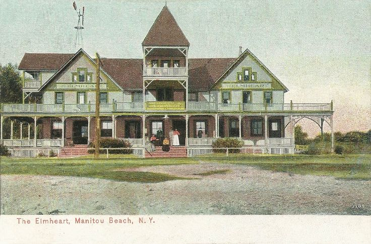 The Elmheart, Manitou Beach, N. Y.  Dated: between 1907 and 1915 Made by: Rochester News Company, Rochester, N. Y. Number: A/12231
