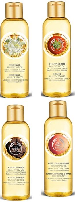 The Body Shop Oils
