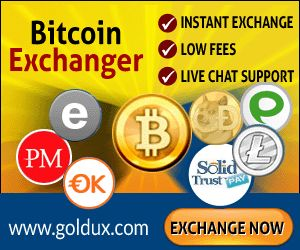 www.GOLDUX.com - Automatic bitcoin exchanger
