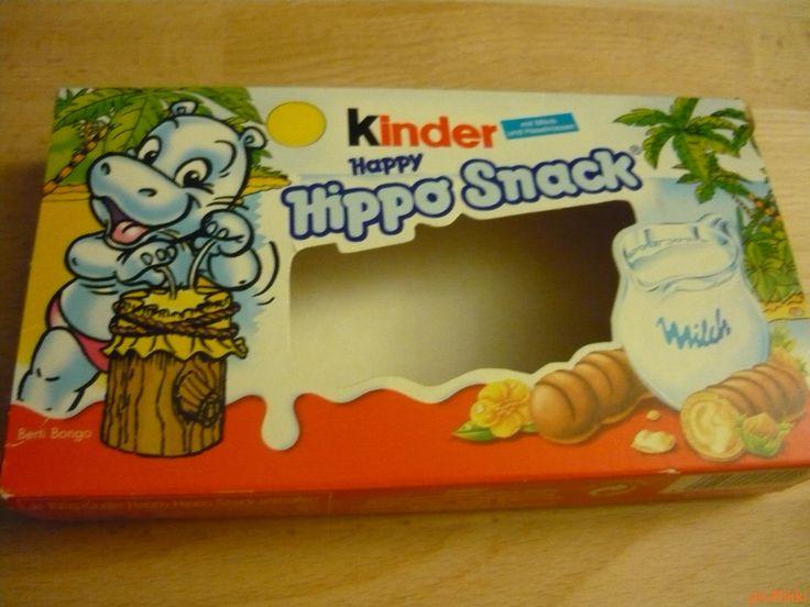 No. 176 | víziló | hippo | doboz | box | Kinder Hippo Snack