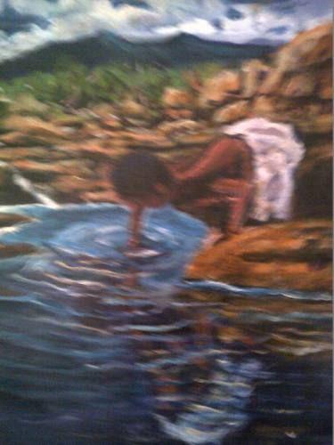 "Saatchi Art Artist FRANS BOTHA; Painting, ""HOPE"" #art"