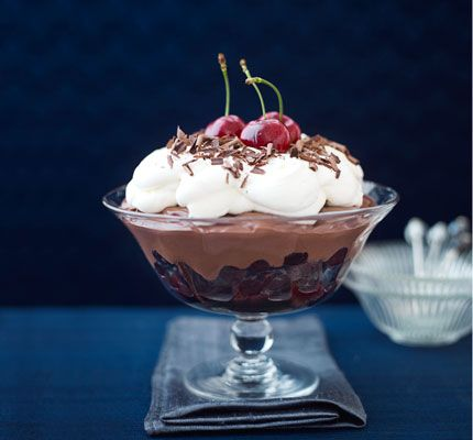 James Martin's indulgent trifle won't keep you in the kitchen for long but will impress guests at your next get-together