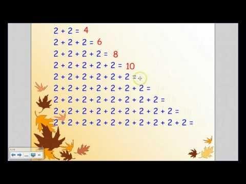 ▶ Johdatusta kertolaskuun - YouTube (video 10:21).