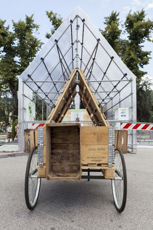 Project of a temporary structure by N_D creative