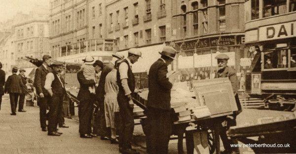 Shoreditch High St - 1920's London