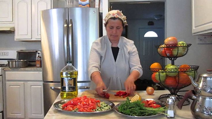 Coban Salad - By Turkish Lady's Cuisine