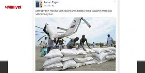 """Facebook'ta insaniyet krizi: İstanbul Kadıköy'deki birmekânda düzenlenen 'Etiyopya Yemekleri Gecesi' için Facebook'ta açılan etkinlik sayfası Afrika ülkelerinde yaşanan açlık kriziyle dalga geçen kişilerin saldırısına uğradı. 8 Eylül'de düzenlenen etkinlik için hazırlanan sayfaya """"Etiyopya'nın meşhur yemeği Birleşmiş Milletl..."""