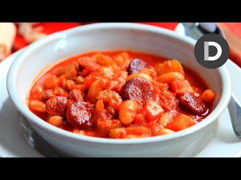 Donal Skehan | Tomato, Chorizo & Chickpea Soup