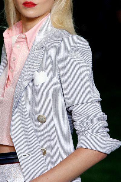 Tommy Hilfiger: seersucker blazer