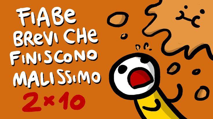 Cappellino e la Grande Diga (serie 2) - FIABE BREVI CHE FINISCONO MALISSIMO