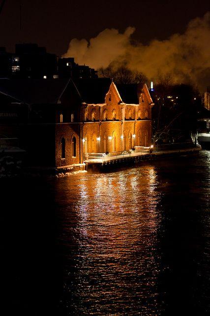gedegilang:  Verkaranta by the Tammerkoski river in January 2012 by Mika Hirsimäki on Flickr.