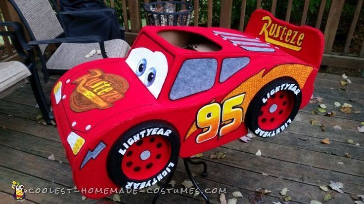 Amazing Lightning McQueen Costume...