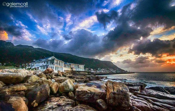 Kalk bay harbour house at dawn