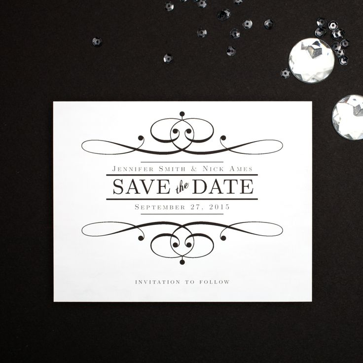 17 best images about 60th wedding anniversary invites on pinterest anniversary parties for Save the date template free download
