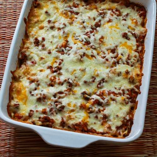 Recipe for Deconstructed Stuffed Cabbage Casserole; this is one of my all-time favorite casserole recipes.  [from Kalyn's Kitchen] #LowGlycemicRecipe  #CasseroleRecipes #GlutenFree
