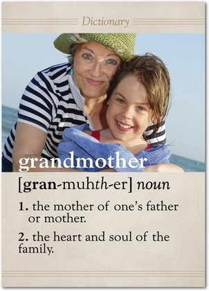Grandmothers are the heart and soul of a family. Birthday cards from treat.com