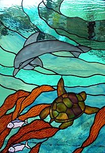 Stained Glass Windows - TurtleDolphin