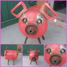 make a pig from a helium tank - Google Search