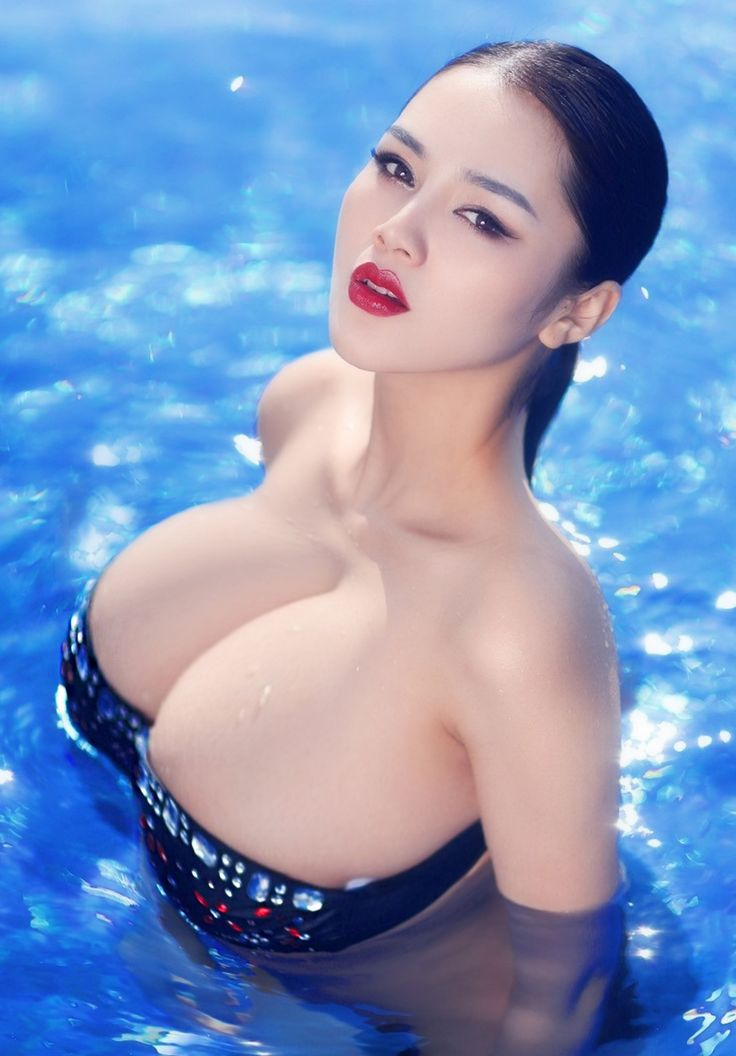 asian with tits